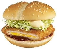 マクドナルドのチーズカツバーガー2009年発売.jpg